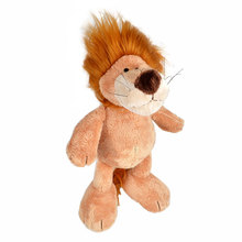 35cm, BOHS Plush Zoo Stuffed Animals Soft Toys: Lion Deer Monkey Gorilla Tiger(China)