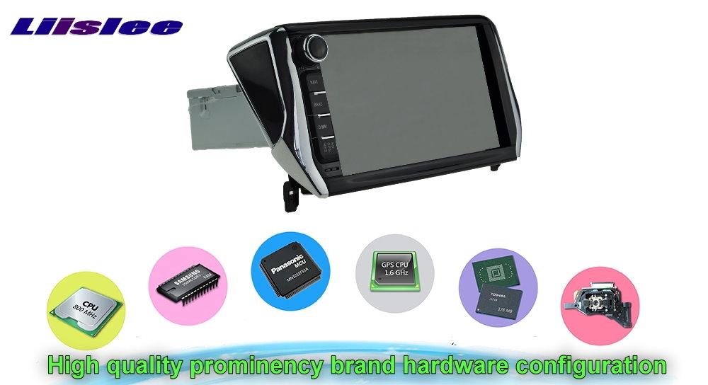Car Multimedia Video GPS NAVI TV Controller System For PEUGEOT 2008 Hardware configuration