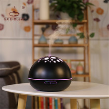 GX.Diffuser Newest Product Electric Air Aroma Diffuser Humidifier Ultrasonic Essential Oils For Aromatherapy Aroma Diffusers(China)