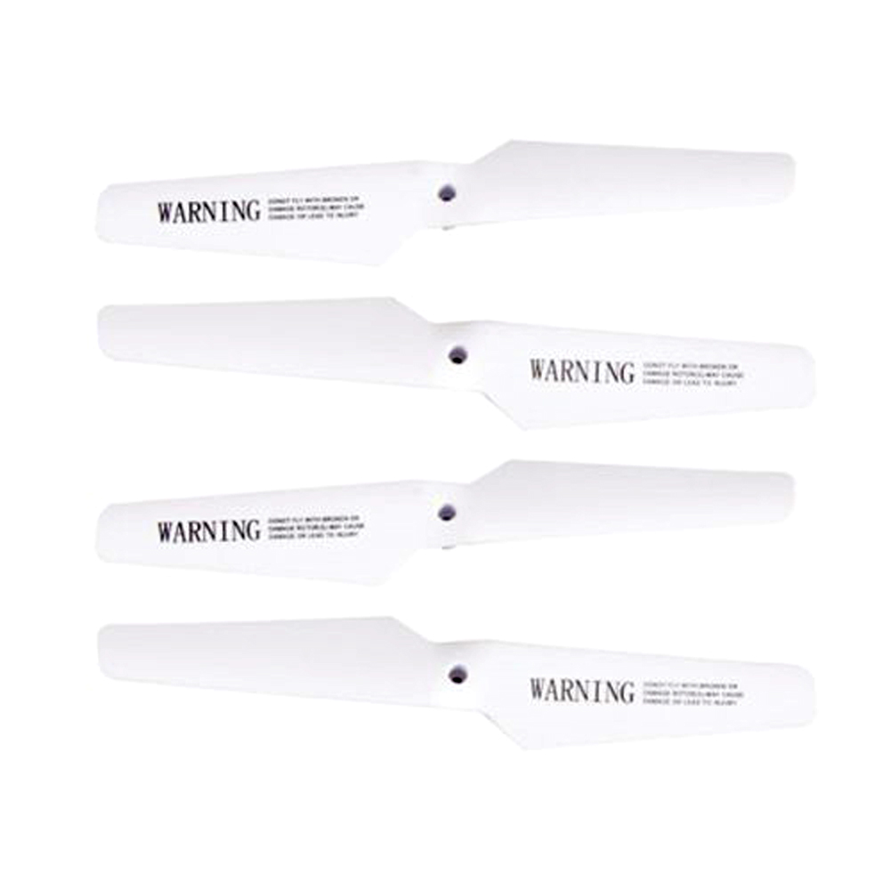 X5/X5C Main Blades Propellers Helicopter Spare Part for RC Helicopter 4 in 1 Set RC Helicopter Quadcopter Propeller Blades M09(China (Mainland))