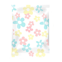 2017 New Fashion Flower High Quality 8 Wire Reusable Thickened Vacuum Storage Bag  for Blanket Clothes Quilt Bedding Organizer