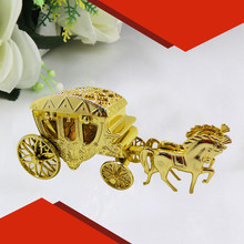 2016 new 10pcs silver royal horses cart candy box /royal carriage for wedding decoration wedding invitations holiday supplies