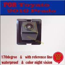 Color CCD HD  car rear view camera parking monitor reverse camer backup camera for toyota 2010 LAND CRUISER PRADO night vision