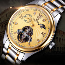 Tevise luxury brand men watches waterproof hollow tourbillon automatic business mechanical male watch waterproof new tide table