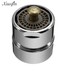 1Pcs Xueqin Brass One Touch Control Faucet Aerator Water Saving Tap Aerator Valve Male Thread 23.6mm Bubbler Purifier Stop Water(China)