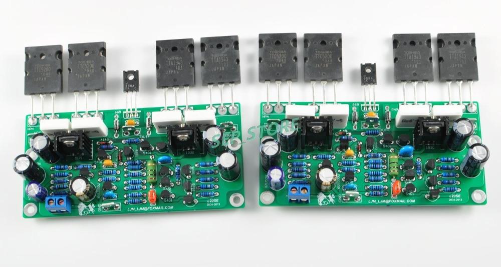 LJM L20SE Power Amplifier Kit With A1943 C5200 (Include 2 channel boards)<br><br>Aliexpress