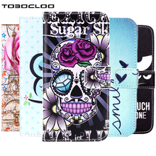 TOBOCLOO Cases For iPhone 5 5S 6 6S 7 Plus Wallet Mobile Phone Cover Flip Leather For Samsung Galaxy S3 S4 S5 S6 edge Case(China)