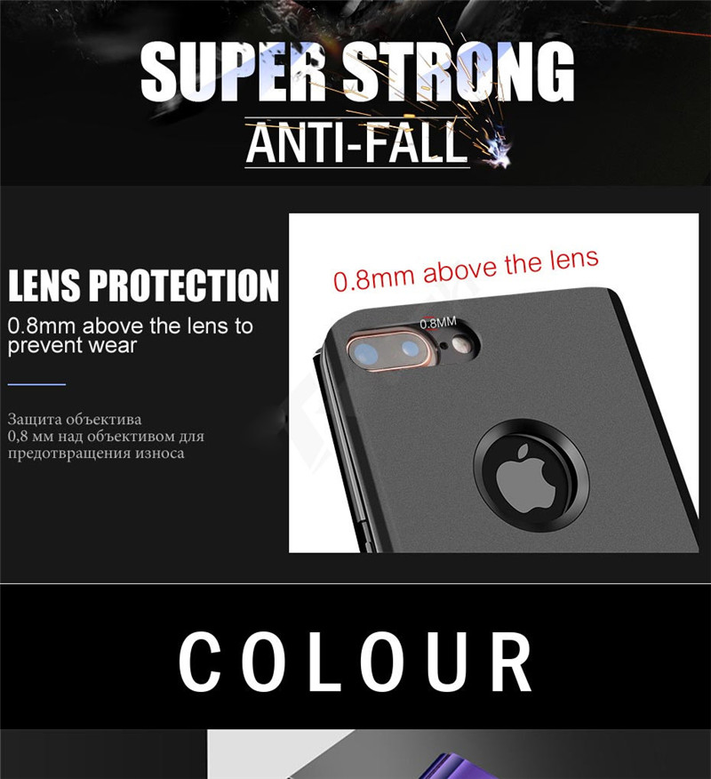 SHUOHU Luxury Case for iPhone 8 7 6 6 S Plus Ultra Slim Mirror Smart Case for iPhone 8 iPhone 7 Cover Phone Holder for iPhone X 5
