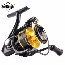 SeaKnight TREANT 2000 3000 4000 Series 5.2:1 Spinning Fishing Reel 11BB 8/10/12KG Drag Carbon Fiber Fishing Wheel Aluminum Spool(China)