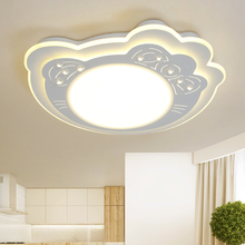 2017 New Arrival Hello Kitty LED Ceiling Lights for Living room Bedroom LED Lustres Ceiling Lamparas de Techo Lighting(China)