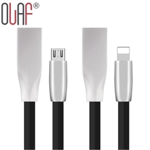 Olaf News 3D Zinc Alloy Fast Charging Micro Usb Cable For IPhone 5 6  7 Plus IPad Mini Samsung LG HTC Android Usb Data Transfer