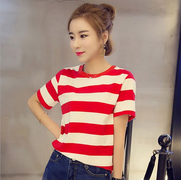 Online Get Cheap Red White Striped Tee -Aliexpress.com | Alibaba Group