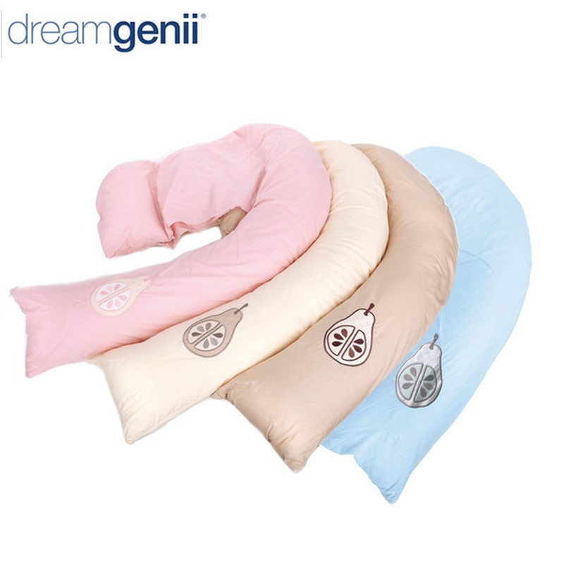 Dream genii pregnancy maternity support feeding pillow / Multi-functional pregnancy side sleepper Pro pillow with box packaging<br><br>Aliexpress