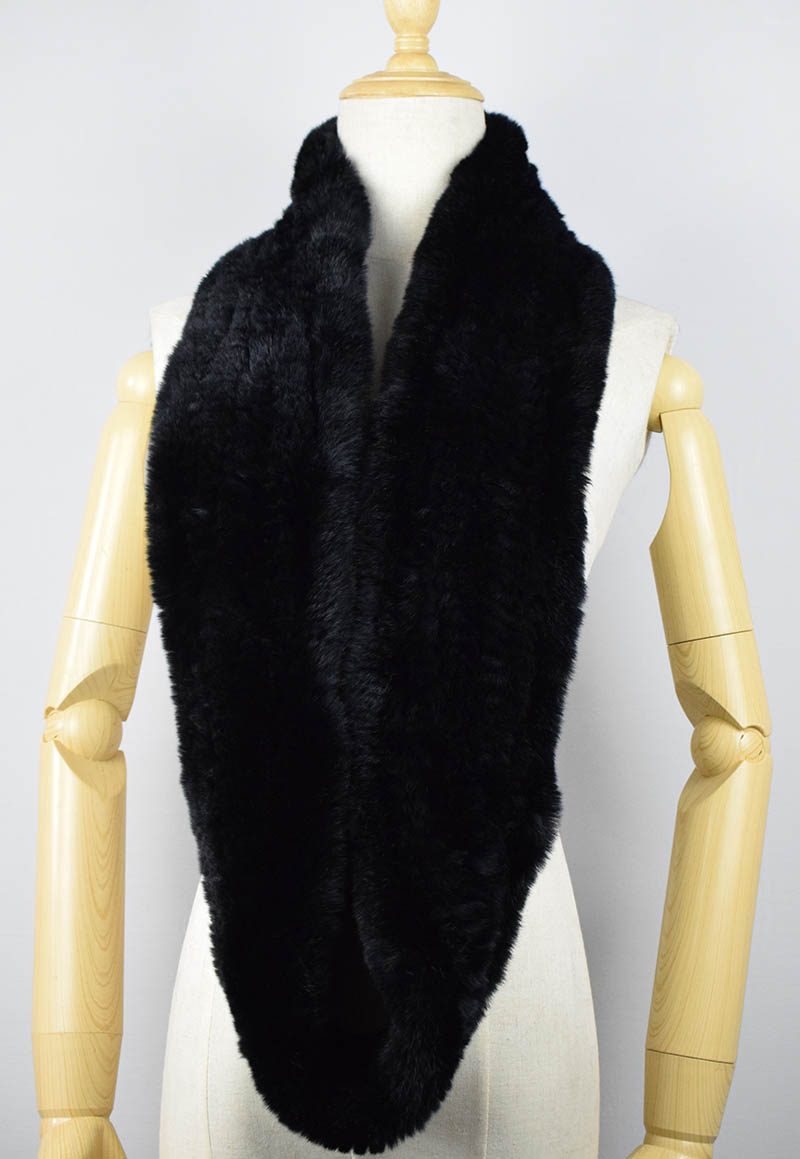 rex rabbit fur scarf 4