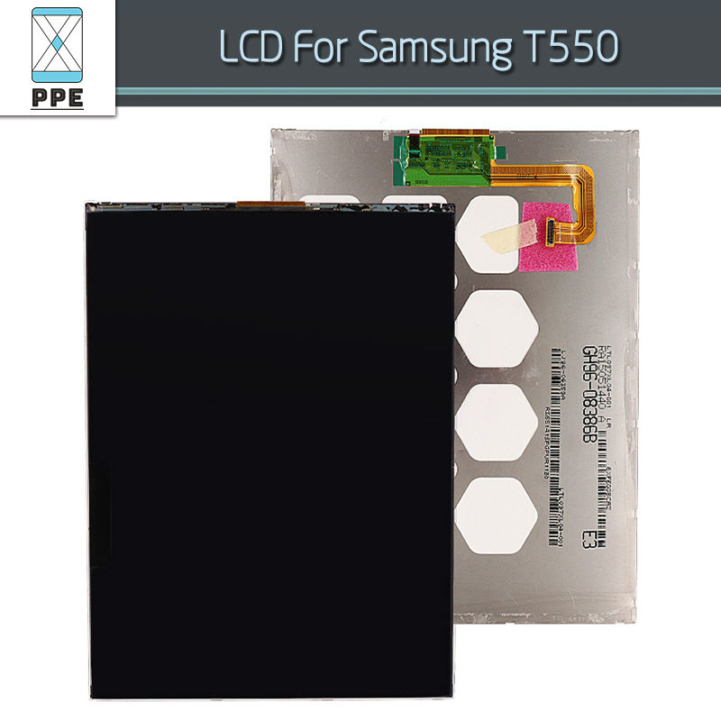 9.7 Inch LCD Display Screen For Samsung Galaxy Tab A SM-T550 T550 T555 LCD Screen Panel Pantalla Replacement<br><br>Aliexpress