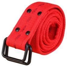 Nueva hombres mujeres unisex lona gruesa web tejido estiramiento trenzado  cinturón con anillo D Extensiones( dedb87cec698