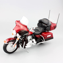 1:12 Maisto kids Harley 2013 FLUTK ELECTRA GLIDE ULTRA LIMITED Diecast model motorbike motorcycle auto car metal collectible toy(China)