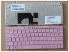 NEW 605740-001  For Hp Mini 210-1000 210t-1000 210-1000vt 2102 US Pink laptop keyboard