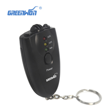 10pcs/lot mini alcohol tester/ alcohol detector with flashilight Breathalyzer startlight as portable gife pft61(China)