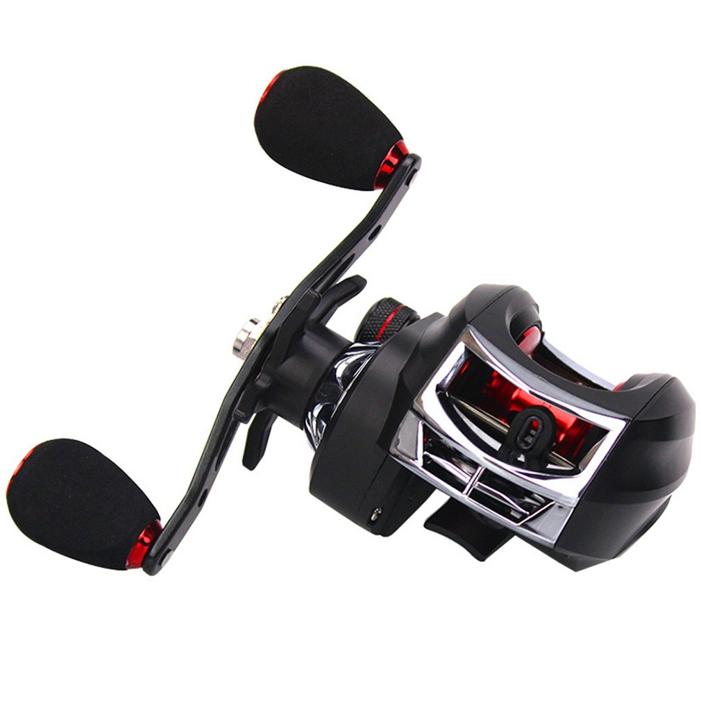 7.2:1 Anti-Corrosion Baitcaster High Speed Baitcasting Fishing Reel Low Profile Durable Fishing Accessories Hot Dropshipping