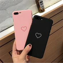 Buy BINYEAE Love Fashion Hard Case iPhone X 8 7 6 6s Plus 5 5s 5se Ultra thin Hard PC Back Cover Cases iPhone 8 6 6P 6s6SP for $1.28 in AliExpress store