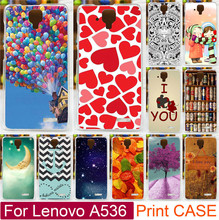 Best Selling Print Love You Moon Ballon Beer PC Hard Painted Case For Lenovo A536 A358t Moblie Phone Case Back Cover Shell