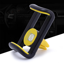 Universal Air Vent Mount Clip phone Holder Car Vent Holder Stand Cradle For iphone 4 4s 5 5s 5c SE 6 6s 7 Plus Smartphone