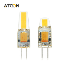 10Pcs AC / DC 12V 3W 6W COB SMD G4 LED lamp light Chandelier High End Silicone LEDs Spotlight Bulb Replace 30W 50W Halogen Light(China)
