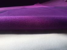 1 meter purple fabric for DIY sewing Stuffed toy sofa furniture material Warp knitted brushed Plain Loop velboa velvet