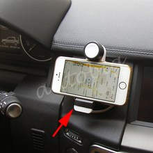 While Style Auto Vehicle Motors Accessories Air Vent Mount Bracket Cell Phone Stand Holder Parts