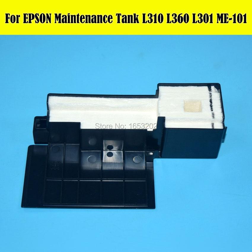 1 PC NEW Original Maintenance Ink Tank For EPSON For EPSON L220 L111 L351 L350 L301 L353 Printer Waste ink Tank<br><br>Aliexpress