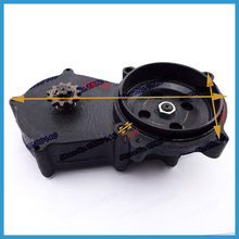 Double Chain Clutch Drum Gear Box For 47cc 49cc 2 stroke High quality dirt bike engine parts Quad ATV Buggy Go kart(China)