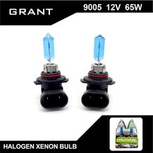 GRANT 9005 HB3 Halogen Bulbs 65W 5000K Pure White DC12V Car Headlight Auto Replacement Lamps Lights Xenon Gas Inside for accord