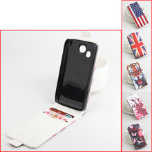 For Lenovo A789 luxury 2 card slots Flip up-down holster With Cover Leather case For a789 MTK6577 Dual core Smart phone(China)