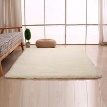 2 Colors Coral Velvet Floor Mat Bedroom Carpets Soft Bedside Living Room  Footcloth Solid Color Water