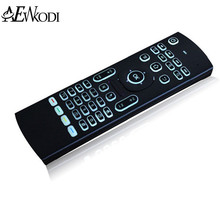 MX3 Backlight  Wireless Keyboard 2.4G Wireless Remote Control IR Learning MXIII Fly Air Mouse Backlit For Android TV Box