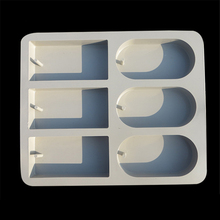 silicone mold oval square soap mold silicone bakeware DIY chocolate cake molds pastry moulds E276