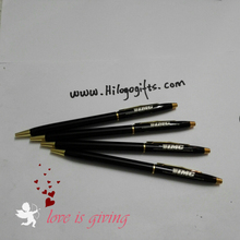 Personalized Bullet pen smooth writting laser marking your logo free print logo for festival gifts 80pcs /lot(China)