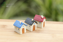 10 pcs/set beatiful micro landscape plants decoration Moss doll furnishing articles three color small home house DIY material