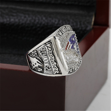 2011 New England Patriots AFC FOOTBALL Championship Ring 10-13 size with cherry wooden case as a gift(China)