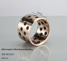 JDB 061010 Graphite Filled Bronze Bushing 4pcs in automotive product line /Graphite plugged Oiles Bearing(Hong Kong)