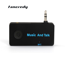 3.5mm Foldable Wireless Car Bluetooth Aux Audio Receiver Adapter Car Bluetooth Handsfree A2DP with HD Mic Stereo Music Receiver