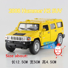 KINSMART Die Cast Metal Models/1:40 Scale/2008 Hummer H2 SUV toys/for children's gifts/for collections