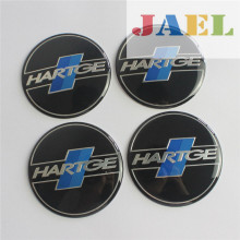 4Pcs 3D Aluminium HARTGE 65mm Wheel Center Hub Caps Emblem Sticker Badge Case for BMW