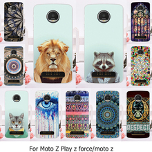 AKABEILA Phone Case For Motorola Moto Z Force Play X4 Edition Verizon Vector maxx Droid 2016 XT1635 XT1650 XT1650-05 Cover