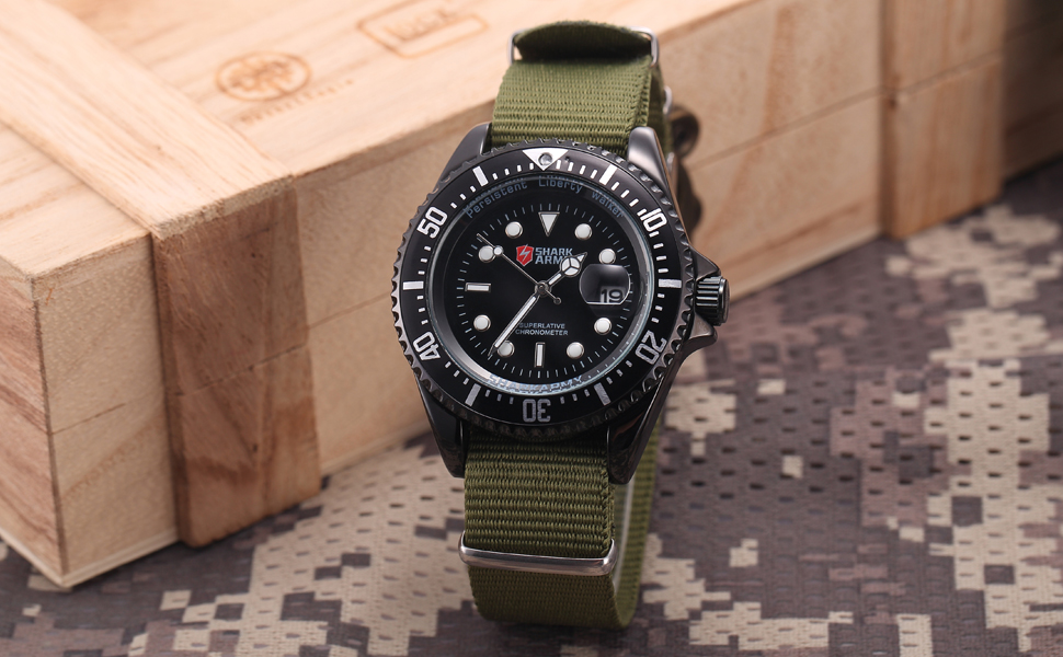 กองทัพฉลามสร้างสรรค์นาฬิกากองทัพสี 18