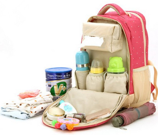 Promition! Baby diaper Bags for mom nappy changing tote bag multifunction stroller organizer waterproof baby bag<br>