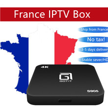 Buy French Belgium IPTV GOTiT S905 4K Smart Android TV box 1300+ Live & VOD hd channels Amlogic S905X Quad-core android iptv box for $55.50 in AliExpress store
