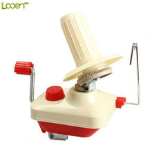 Looen Brand Swift woolen Yarn Fiber String Ball Wool Winder Holder Handheld hand Operated wire cable winding machine wholesale(China)