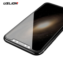 Buy USLION 3D Edge Tempered Glass iPhone X 0.23mm Screen Protector Full Cover 9H Curved Protective Glass Film iPhoneX 10 for $1.27 in AliExpress store